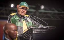 President Jacob Zuma addresses the ANC national policy conference at Nasrec on 30 June 2017. Picture: Thomas Holder/EWN.