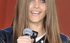 Late singer Michael's Jackson's daughter, Paris Jackson. Picture: AFP.