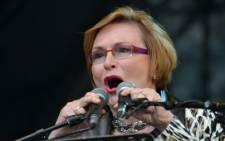 Outgoing DA leader Helen Zille. Picture: EWN