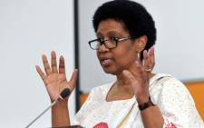 FILE: Phumzile Mlambo-Ngcuka speaks at the National Gender Summit. Picture: GCIS.