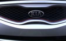The grill of the new Kia Picanto. Picture: Reinart Toerien/EWN