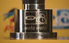 The MTN 8 trophy. Picture: Christa Eybers/EWN