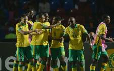 FILE. Bafana Bafana's clash with Senegal on 23 January 2015 in their second Africa Cup of Nations (Afcon) campaign. Picture: Twitter via @BafanaBafana.