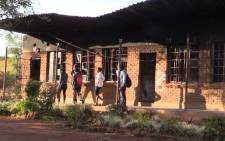 Most schools in Vuwani saw just a handful of pupils show up after a two-week shutdown. Picture: Kgothatso Mogale/EWN.