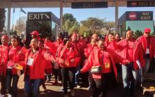 Cosatu members at the union's special national congress held at Gallagher Convention Center on 13 July 2015. Picture: Govan Whittles/EWN.