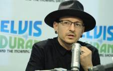 "FILE: Linkin Park lead singer Chester Bennington visits ""The Elvis Duran Z100 Morning Show"" at Elvis Duran Offices on February 21, 2017 in New York City. Picture: AFP."