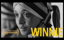 A screengrab shows the documentary 'Winnie', based on Winnie Madikizela-Mandela.
