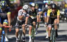 FILE: Team Dimension Data rider Mark Cavendish (2nd left). Picture: AFP