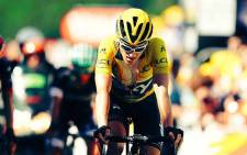 FILE: Briton Geraint Thomas has retired from the Tour de France after an injury. Picture: Twitter/@GeraintThomas86.