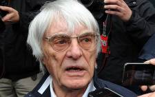 The F1 Chief Executive has been charged with bribing a German banker. Picture: AFP
