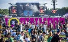Festival goers at the 2018 PinkPop Festival at Landgraaf in the Netherlands. Picture: AFP