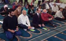 FILE: Women and men sit together during Friday afternoon prayers on 19 September 2014. Picture: Lauren Isaacs/EWN