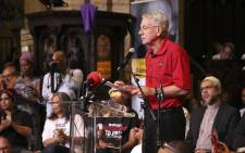 Deputy Public Works Minister and South African Communist Party (SACP) first deputy general secretary Jeremy Cronin speaks at the Ahmed Kathrada memorial in Cape Town. Picture: Cindy Archillies/EWN