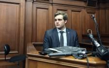 Triple murder accused Henri van Breda seen in the Western Cape High Court on 6 November 2017. Picture: Monique Mortlock/EWN