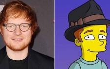 Ed Sheeran is to play Lisa's love interest in The Simpsons. Picture: Instagram/@teddysphotos