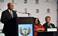 President Jacob Zuma officially opens the World Water Day Summit and Expo at the Durban International Convention Centre. Picture: GCIS.