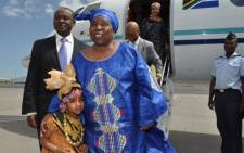 Arrival of the New Chairperson of the African Union Commission, Dr. Nkosazana Dlamini Zuma to Addis Ababa, Ethiopia on14 October 2012. Picture: African Union