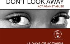 16 Days of Activism for No Violence Against Women and Children. Picture: Supplied.