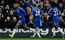 Ruben Loftus-Cheek celebrating his first senior goal for Chelsea in the FA Cup clash against Scunthorpe on 10 January 2016. Picture: Chelsea official Facebook page.