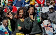 Young people attend the Youth Day commemoration at Orlando Stadium in Soweto. Picture: GCIS.
