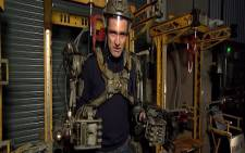 A screen grab from CNN's exclusive look behind the scenes in the Warner Brothers props and costume archive. Picture: CNN