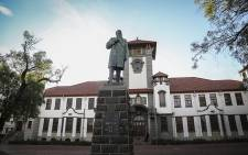 FILE: A statue of colonial statesman Marthinus Steyn at the University of the Free State's Bloemfontein campus. Picture: Reinart Toerien/EWN.
