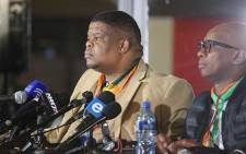 FILE: Energy Minister David Mahlobo. Picture: Christa Eybers/EWN