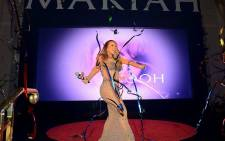 Mariah Carey at Caesars Palace in Las Vegas at the beginning of her residency on 28 April 2015. Picture: Mariah Carey.