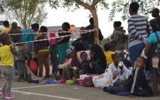 The South African Social Security Agency Sassa is looking at ways of preventing long queues at its offices. Picture: EWN.