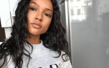 Model and actress Karrueche Tran. Picture: instagram.com