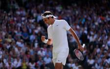 Roger Federer. Picture: @Wimbledon/Twitter