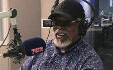 Dr John Kani pictured at Talk Radio 702 studios. Picture: 702.co.za
