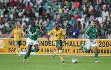 Bafana Bafana in action.