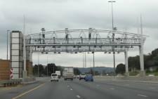 An e-toll gantry on the N1 in Johannesburg. Picture: Christa van der Walt/EWN.