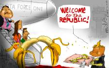 Welcome to the real republic...