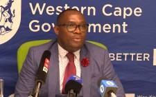 Human Settlements MEC Bonginkosi Madikizela says his meetings with 25 municipalities over the past two days have revealed municipalities are not always allocating housing in line with the database. Picture: Bertram Malgas/EWN