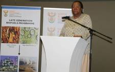 Minister of Science and Technology Naledi Pandor at the launch of the bio-atlas launch. Picture: facebook.com