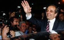 Greek Prime Minister Antonis Samaras. Picture: AFP