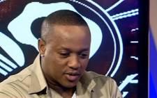 Molemo 'Jub Jub' Maarohanye. Picture: Screengrab.