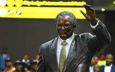 The statue of former ANC president OR Tambo which was unveiled at the OR Tambo International Airport in Johannesburg on 19 October 2017. Picture: Sthembiso Zulu/EWN