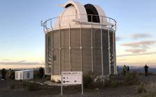 A view of the Meerlicht Optical Telescope in Sutherland on 25 May 2018. Picture: Kevin Brandt/EWN