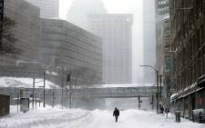 Boston, Massachusetts is literally a ghost town as a disastrous blizzard hits the northeastern parts of the USA. Picture: AFP