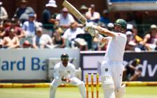 South Africa's Dean Elgar in action. Picture: @OfficialCSA.