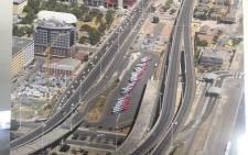 FILE: This undated file photo shows the uncompleted Foreshore Freeway Precinct development in Cape Town. Picture: Supplied.
