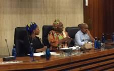 Former AU Chair Dr Nkosazana Dlamini-Zuma honoured by the Wits Golden Key Society. Picturel: Masa Kekana/EWN.