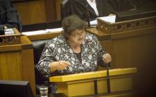Public Enterprises Minister Lynne Brown. Picture: Thomas Holder/EWN.
