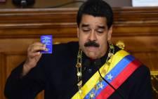Venezuelan President Nicolas Maduro. Picture: AFP