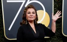 FILE: Actress Roseanne Barr at the 75th Golden Globe Awards in Beverly Hills on 7 January 2018. Picture: Reuters.