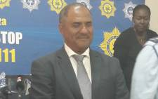 Police Crime Intelligence head Major-General Anthony Jacobs. Picture: @SAPoliceService/Twitter