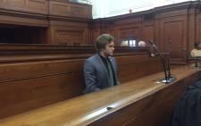 FILE: Murder-accused Henri van Breda at the Western Cape High Court. Picture: Monique Mortlock/EWN.